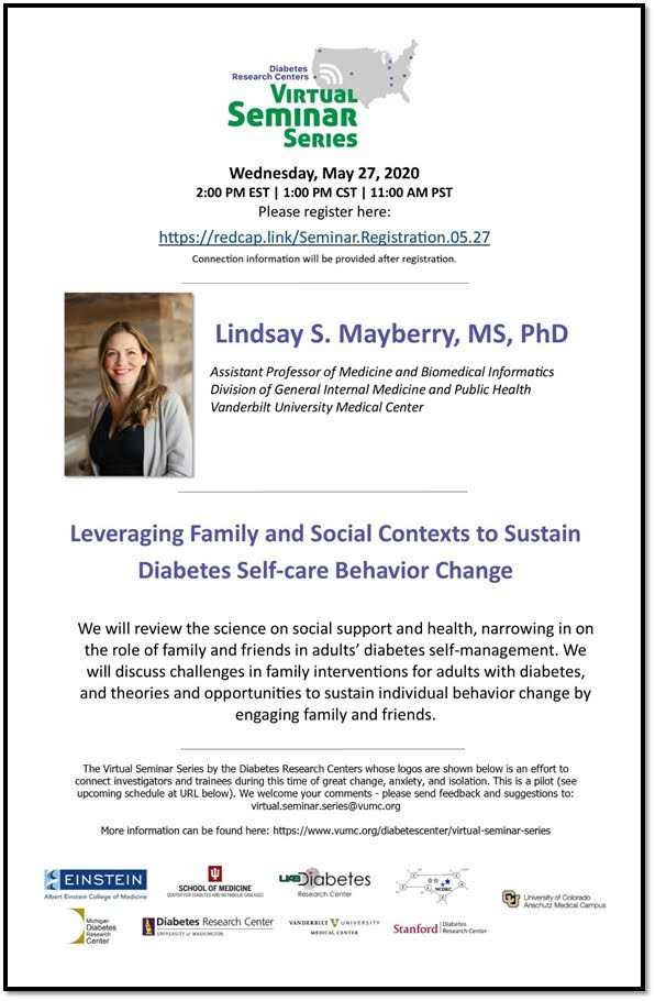 Leveraging Family and Social Contexts to Sustain Diabetes Self-care Behavior Change