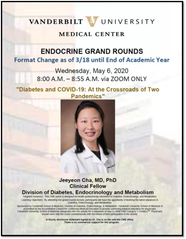 Endocrine Grand Rounds