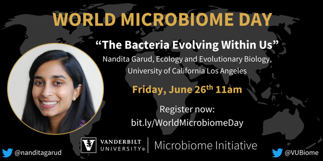 The Bacteria Within Us | Quantitative Systems Biology Center Seminar